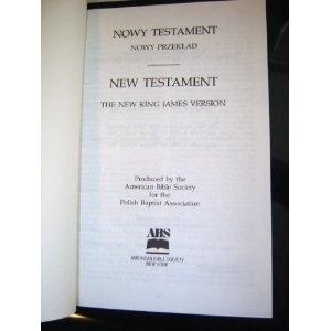 Polish - English Bilingual New Testament / Nowy Testament - New Testament  $49.99