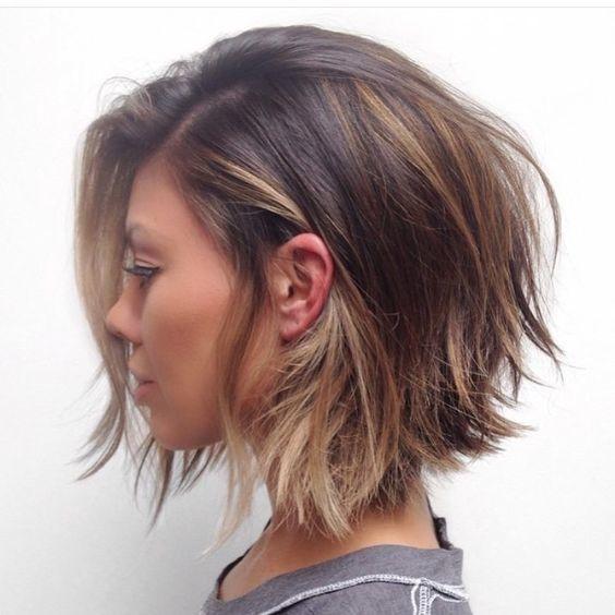 Voici les plus Beaux Modèles De Coupes Cheveux Courts à Mi-longs. | Coiffure…