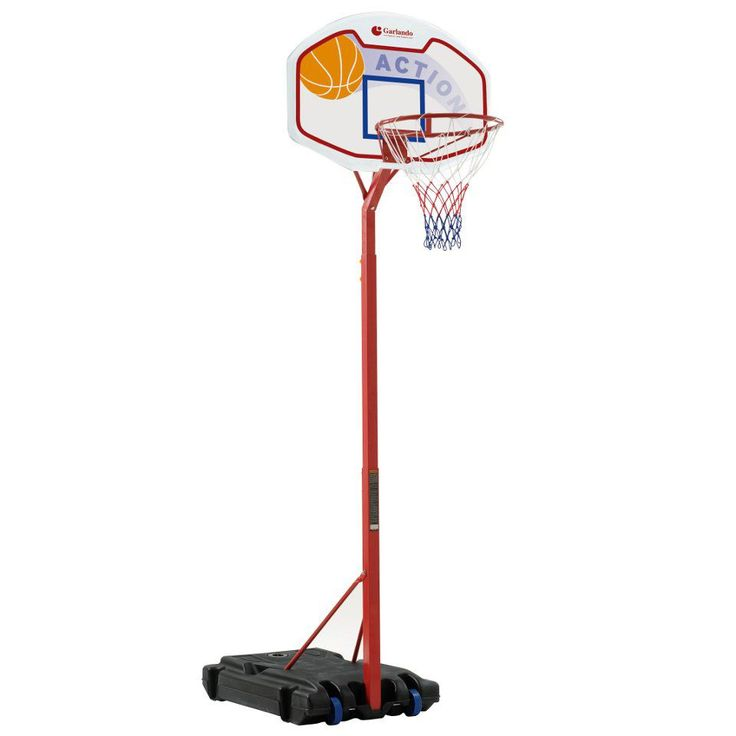 Koripalloteline juniorille? Garlandon  siirrettävä Detroit koripalloteline on loistava valinta tulevalle koripallostaralle. Tutustu ja tilaa koripallotelineesi!