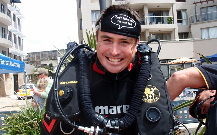 Rebreather trial days - suck & see