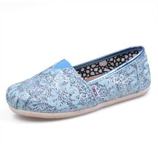 TOMS Shoes Outlet $16.89! I bought it for my sister and she like it. the size is very good also the color and material. We need more colors.