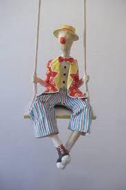 esculturas de palhaços de papel mache - Pesquisa Google