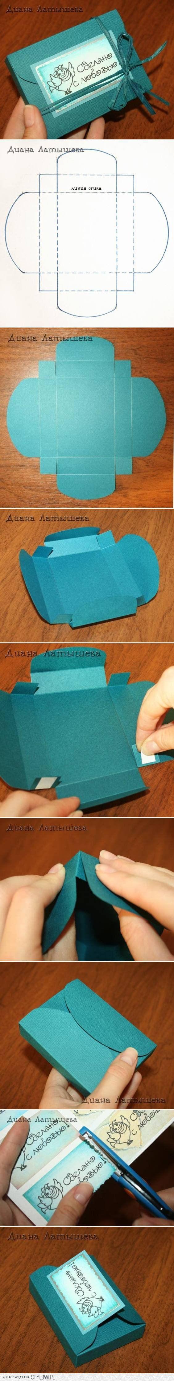 DIY Fancy Gift Box DIY Projects | UsefulDIY.com na Stylowi.pl