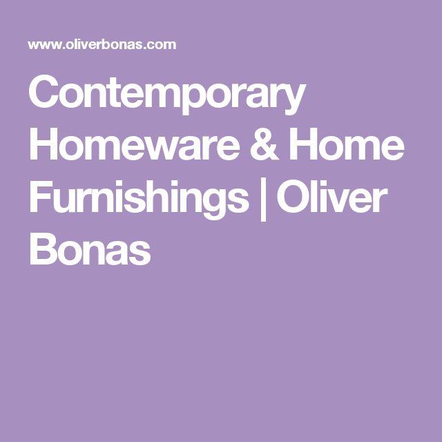 Contemporary Homeware & Home Furnishings | Oliver Bonas