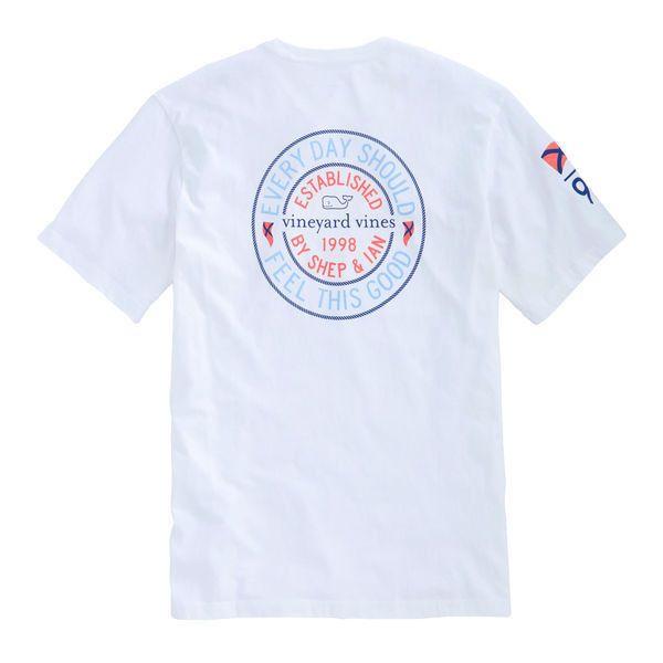 Nautical Badge Pocket T-Shirt ($42) ❤ liked on Polyvore featuring tops, t-shirts, nautical tee, pocket tops, pocket tees, nautical top and pocket t shirts