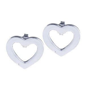 Pugster Open Heart Disc Earrings Sterling Silver Jewelry Stud Gift Ideas Pugster. $17.99. Money-back Satisfaction Guarantee. For pierced ears. Meticulous fine jewelry craftsmanship. Free Jewerly Box,Great to give away as presents, gifts to friends or family members.. Gorgeous Earrings for stud style