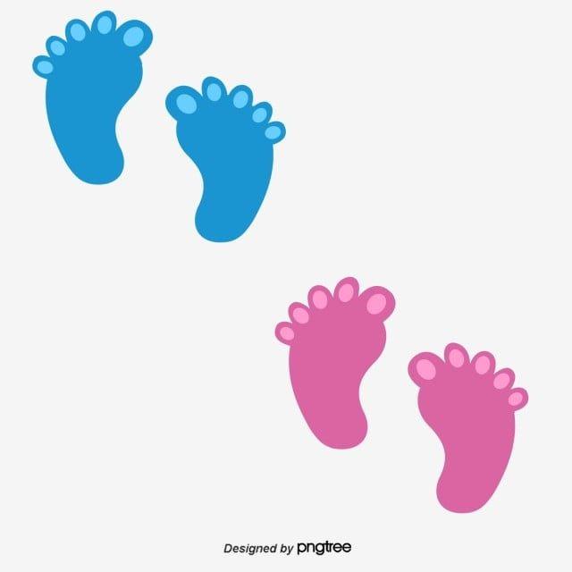 Passos De Bebe Baby Pegadas Cartoon Imagem Png E Psd Para Download Gratuito Newborn Baby Footprint Baby Footprints Baby Article