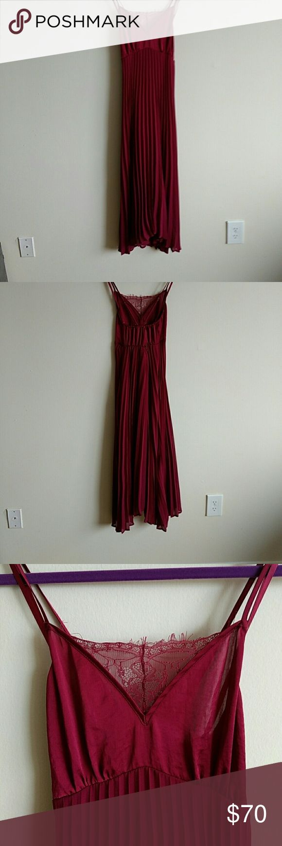 Small by Eloise Anthropology dress Only worn once to my graduation. In perfect condition. Anthropologie Dresses
