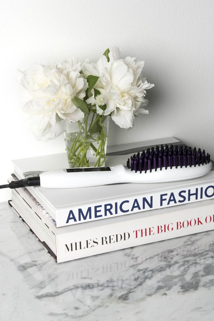 You'll never want to use a hair straightener again.  The STRAIGHT UP Ceramic Straightening Brush gives you smooth, straight, frizz-free hair in half the time. Get yours today!