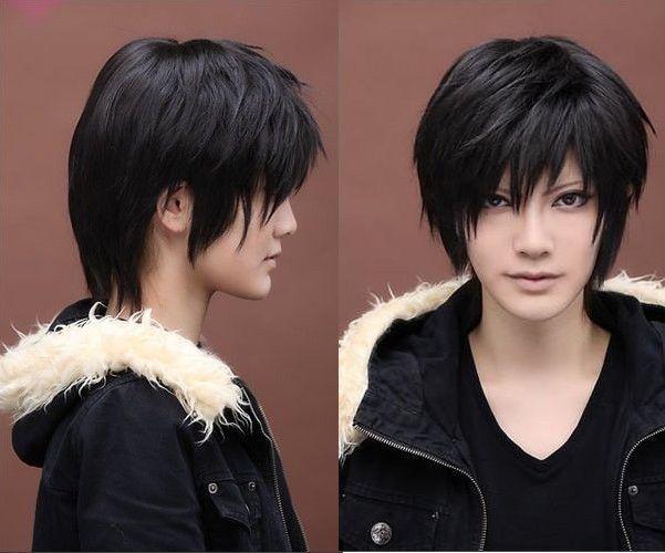Cool Man Boys Kylin Hair Wig Mens Male Black Short Hair Cosplay Anime Wigs Short Black Hair Wig Wigs Wig Hairstyles