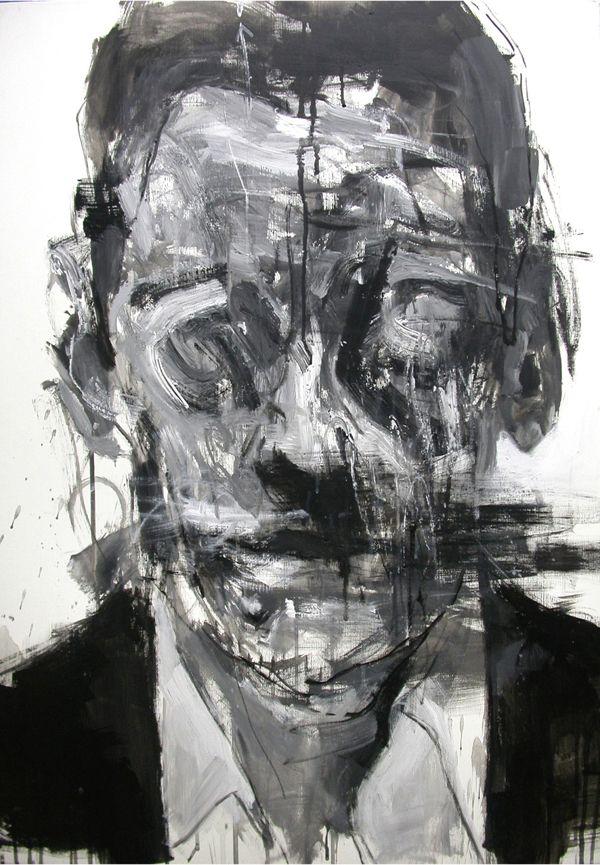 Unusual Portrait Paintings by Kim Byungkwan