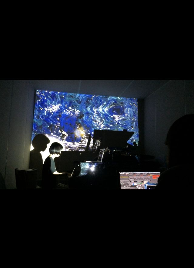Electric Planet Five - After Winter.  vjing   .by grida park.