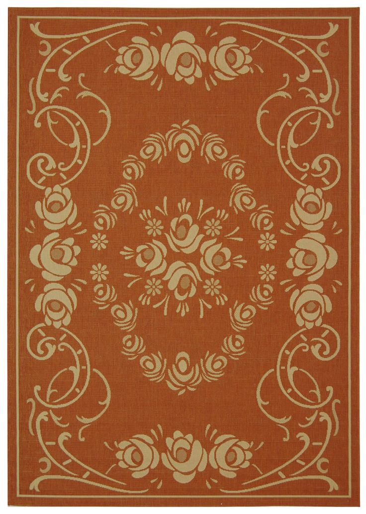 Cy1893 3202 Color Terracotta Natural Size 6 7 X 9 6