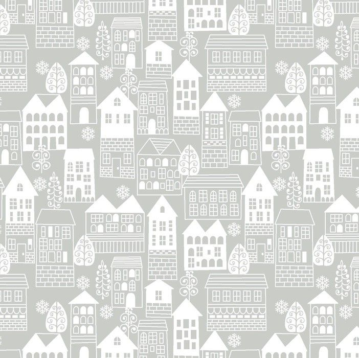 Winter Essentials III - Houses in Grey