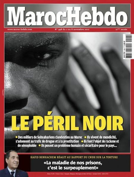 Maroc Hebdo - Le Péril Noir