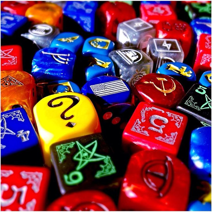 "178 Likes, 1 Comments - Board Game Banquet (@boardgamebanquet) on Instagram: ""A small sample of some custom dice from our games collection🎲Some are upgrades but others just…"""