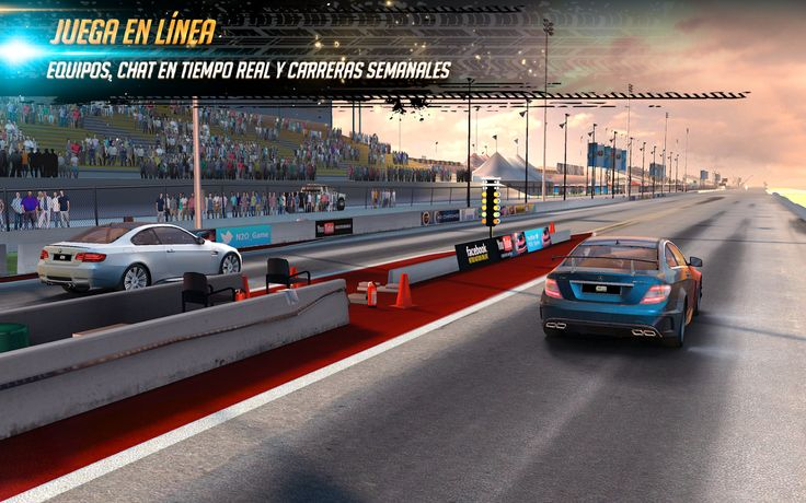 Nitro Nation Racing: captura de pantalla