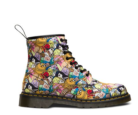 ADVENTURE TIME CHARACTERS CASTEL | Women's Boots | Official Dr Martens Store