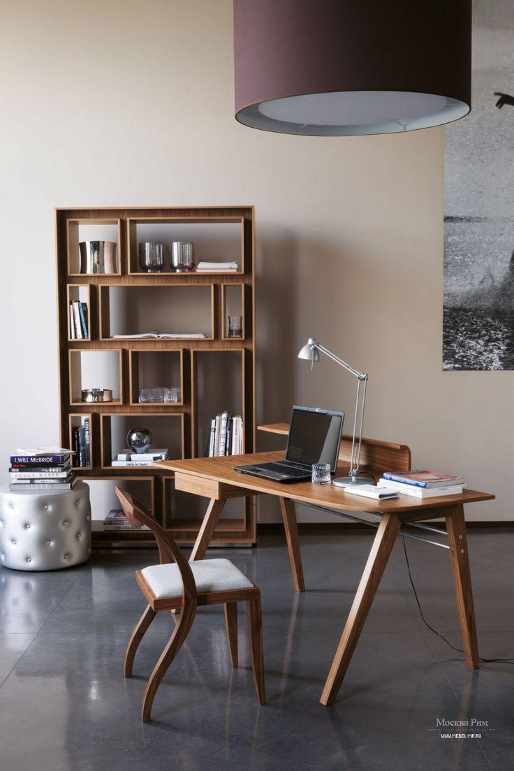Письменный стол Pablo из массива орехового дерева, Porada