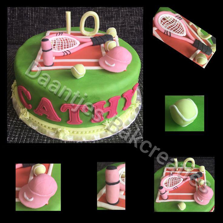 Tennis taart
