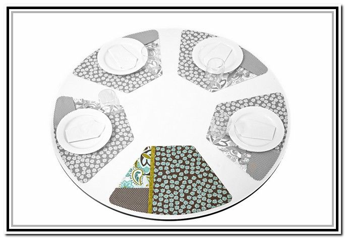 Placemats For Round Table Pattern The Baron Kitchen
