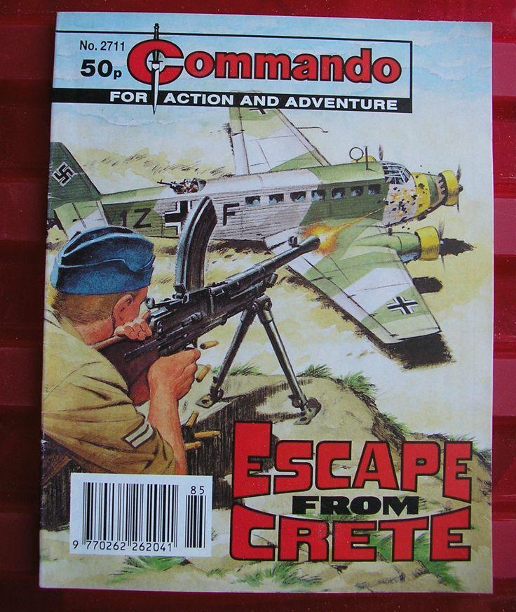 COMMANDO COMIC 2711 ESCAPE FROM CRETE 1993