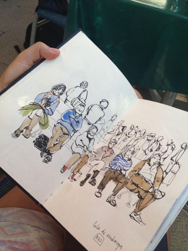 ► ► ► Sketchbooks and journals . http://www.pinterest.com/kittysart/sketchbooks-and-journals/