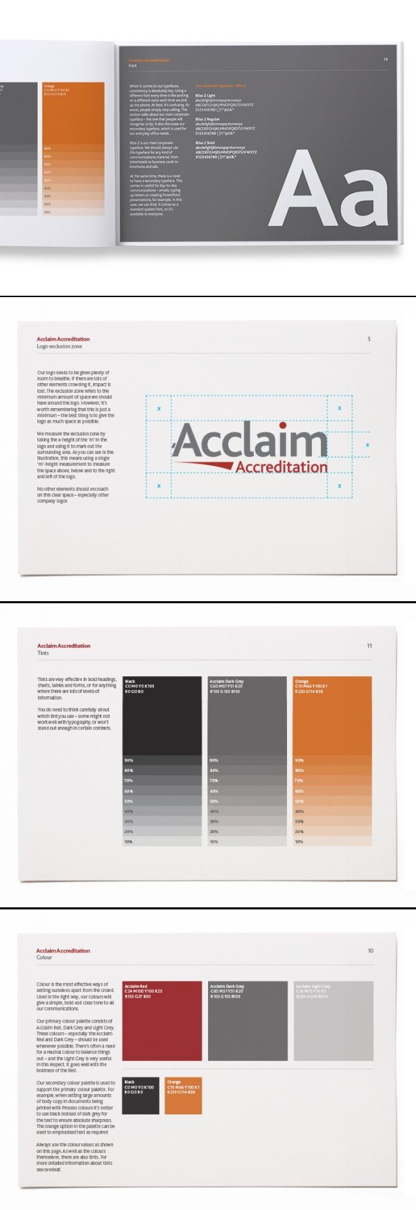 Acclaim Brand Guidelines by Adam Healy
