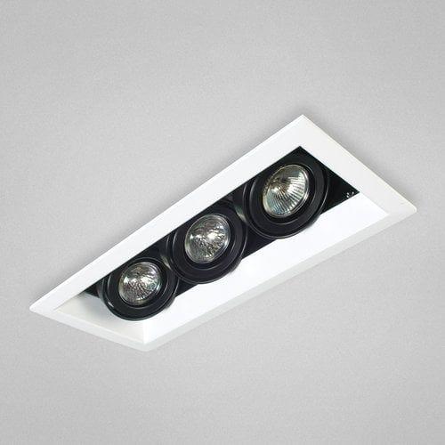 Eurofase Lighting TE113 MR16 Directional 3 Light Recessed Trim (Downlight), White