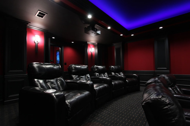 Mario S Custom Home Theater Lighting Using Hitlights Led Strip Lights Pic 4 Home Theater