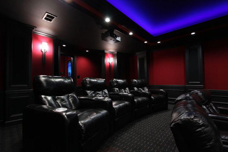 Marios custom hometheater lighting using HitLights LED strip lights Pic 4  DIY Lighting