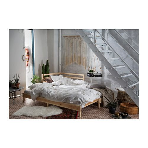 TARVA Daybed with 2 mattresses IKEA The backrest mounts on the right or the left side of the daybed.