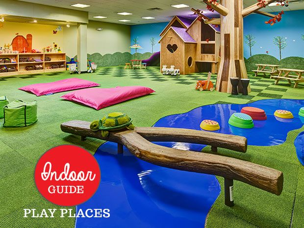 From huge places for free play to places that are totally free -- a guide to the many indoor playgrounds in our area