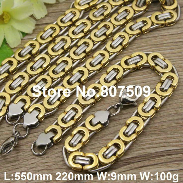Find More Jewelry Sets Information about Hot new stainless steel jewelry trendy Superior quality gold silver color necklace+ bracelet sets for women SFXAHUDC,High Quality set school,China set line Suppliers, Cheap bracelet basketball from JOYAS STAINLESS STEEL JEWELRY on Aliexpress.com