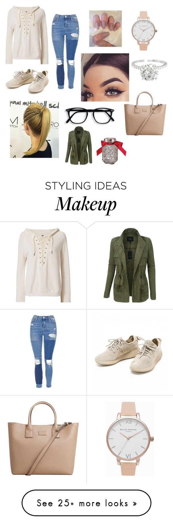 """""""Christmas shopping"""" by grier2000 on Polyvore featuring NSF, Topshop, Olivia Burton, MANGO, LE3NO and Victoria's Secret"""