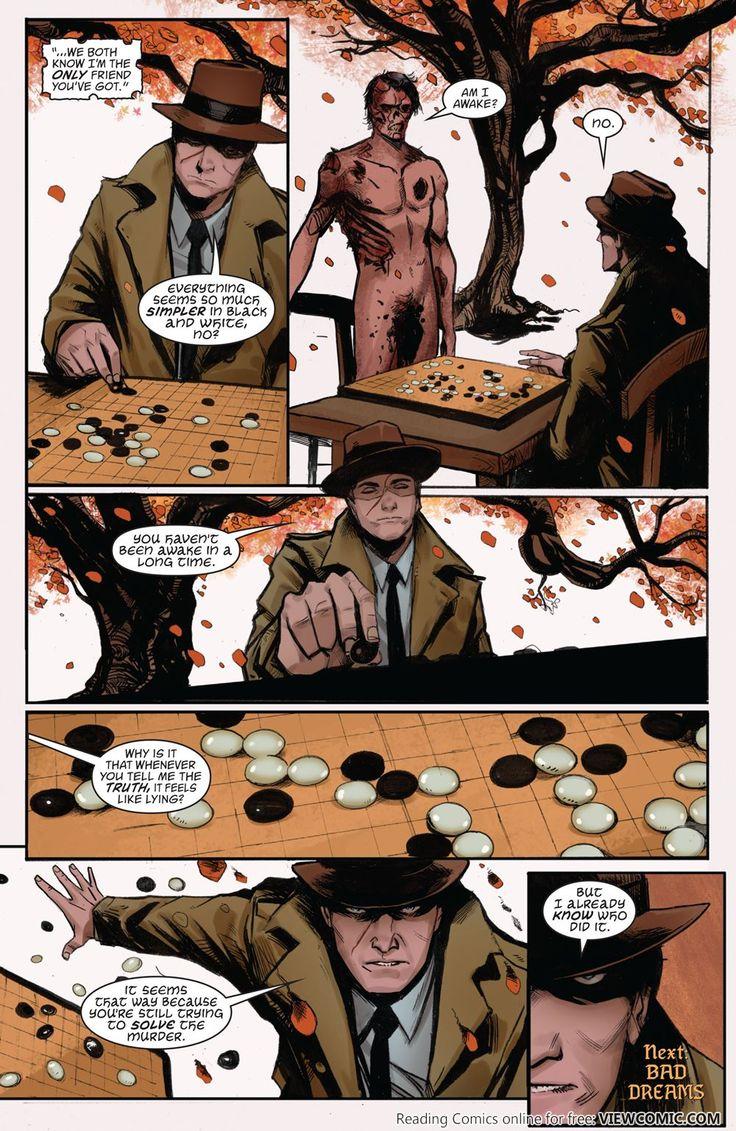 Last page of issue #3 of Vertigo's comic