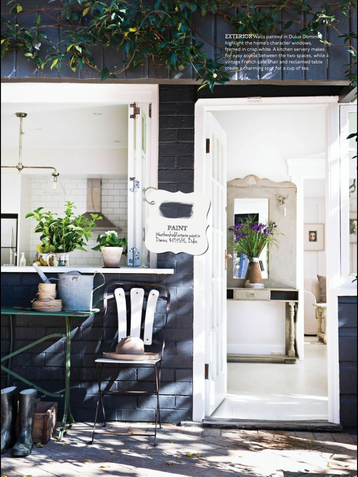 Love dulux domino with white