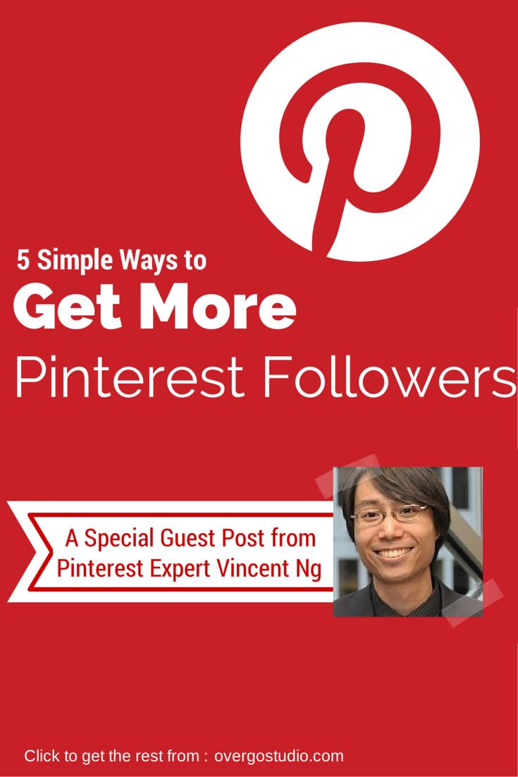 5 Simple Ways to Get More Pinterest