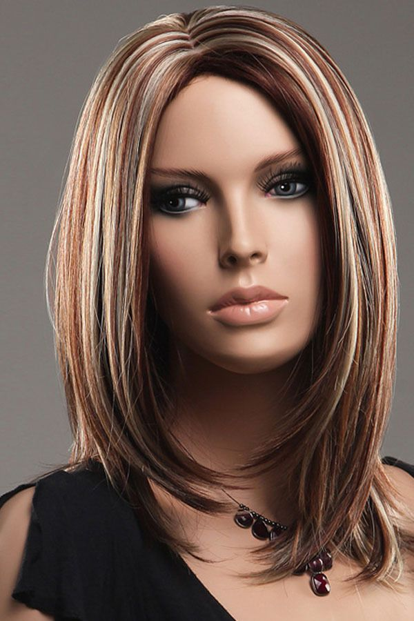 10 best hair images on pinterest plaits makeup and activities straight brown hair with highlights google search pmusecretfo Choice Image