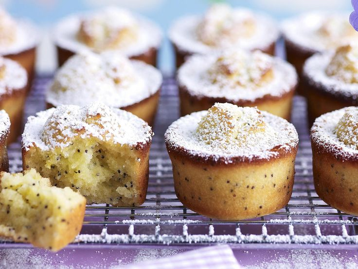 Orange and poppy seeds is a classic combination for friands, you can liven it up by using mandarin instead.