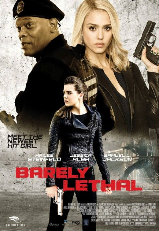 Barely Lethal (3 stars) Cute teen movie about an secret agent who had no childhood so she fakes her own death so she can go to high school. Not believable in any way, however it is not meant to be thought about but merely enjoyed. Steinfeld and Cameron had a good chemistry as foreign exchange sisters. Crazy situations and decently choreographed fight scenes. Worth a look.