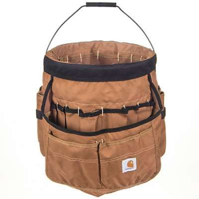 Carhartt Bags: 100702 02 Brown Legacy 5 Gallon Bucket Organizer