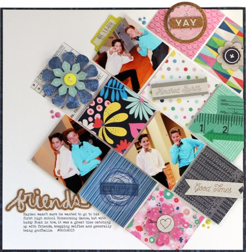 Love this idea; great way to use paper scraps too!