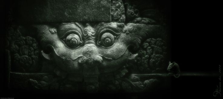 diety - Temple lintel, Prambanan, Indonesia