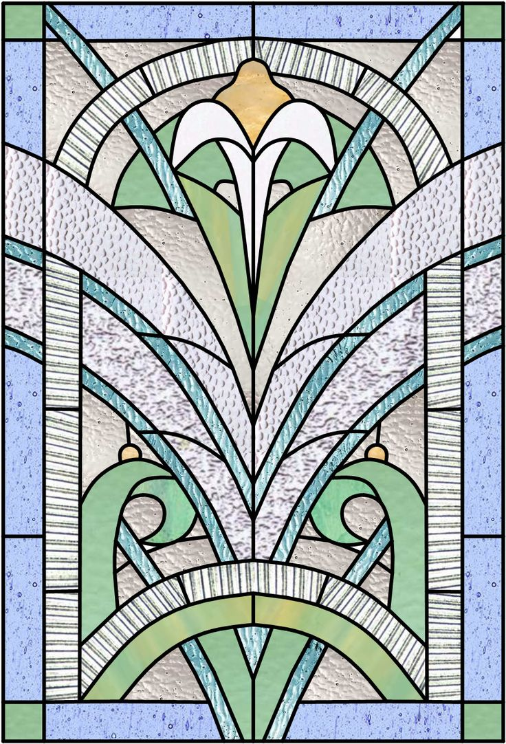 2209 best stain glass secular images on pinterest for Glass panel design