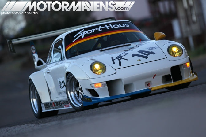 Hillclimb hero, this Porsche was built for racing with Eibach ERS springs. Click for the full article on Motor Mavens