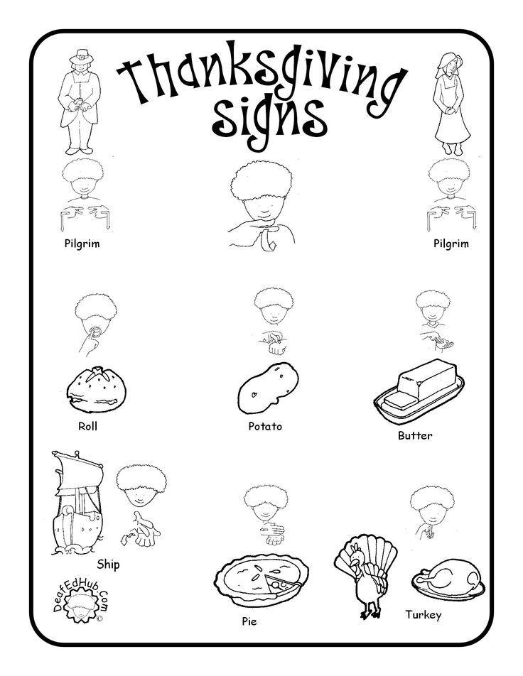 See 7 Best Images of Printable ASL Signs. 13 best ASL Signs of Fall images on Pinterest   Asl signs