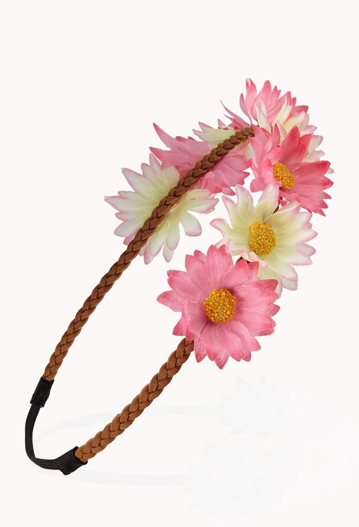26 best flower crown images on pinterest floral crowns flower womens hair accessories shop online forever 21 1000050279 izmirmasajfo Images