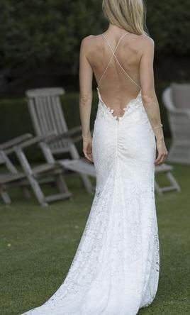 #wedding #mybigday Elizabeth Fillmore FAYE 8: buy this dress for a fraction of the salon price on PreOwnedWeddingDresses.com