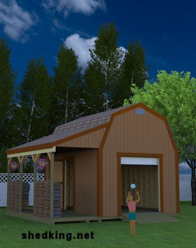 38 Best Shed Plans Images On Pinterest Little Houses